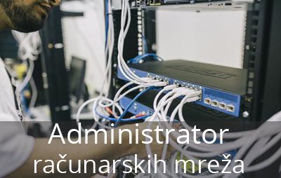 Administrator računarskih mreža je jedno od najperspektivnijih zanimanja u našoj školi, a prve učenike na ovom smeru upisujemo u školskoj 2018-2019 godini.
