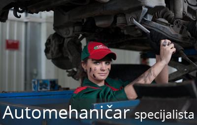 Održavanje putničkih, drumskih vozila: preventivni pregledi, servisiranje, složenije opravke i remont motora drumskih vozila.