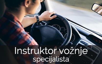 istruktor vožnje